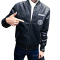 2016 New Fashion Leather Jacket Men PU Motorcycle Leather Jackets And Coats Jaqueta De Couro Masculina