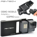 PGY Adapter for DJI osmo mobile Gopro Hero 5 4 3 3+ accessories switch mount plate gimbal Camera handheld phone drone parts