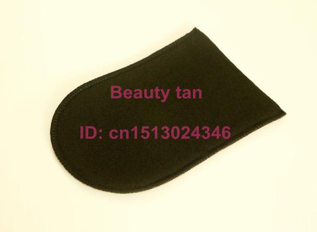 1pc Self Tan Mitt Tan Applicator of Tanning Lotion Spray Tan for Bronzer Soft Velvet can be reusable