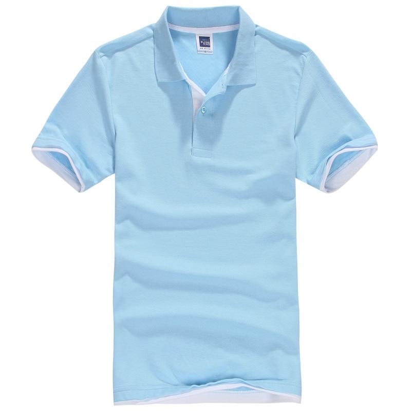 Brand New Polo Shirt pentru bărbați Bărbați Polo Coș Poliester Polo shirt Cămașă cu mânecă scurtă Plus Size XS-3XL mens polo shirt