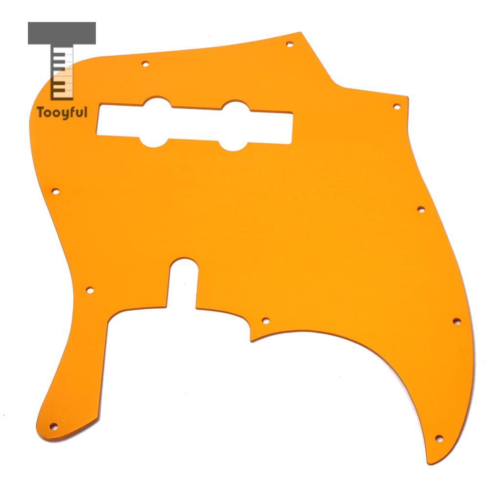 10 Holes JB Bass Pickguard Pick Guards Scratch Plate for Standard Jazz Bass sg standard full face guitar pickguard scratch plate zebra stripe with screws