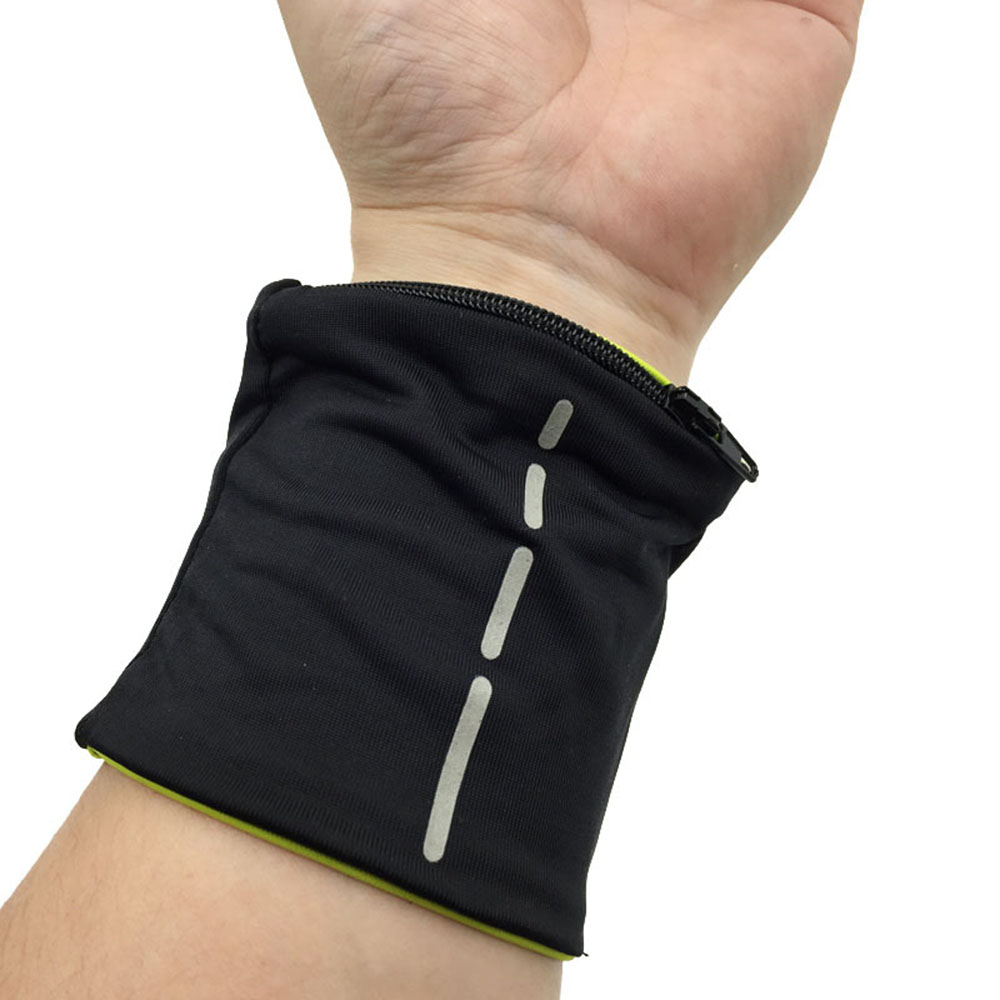 Hiking Sport Gym Outdoor Pouch Wallet Wristbands Wrist Strap Ankle Wrist Wrap