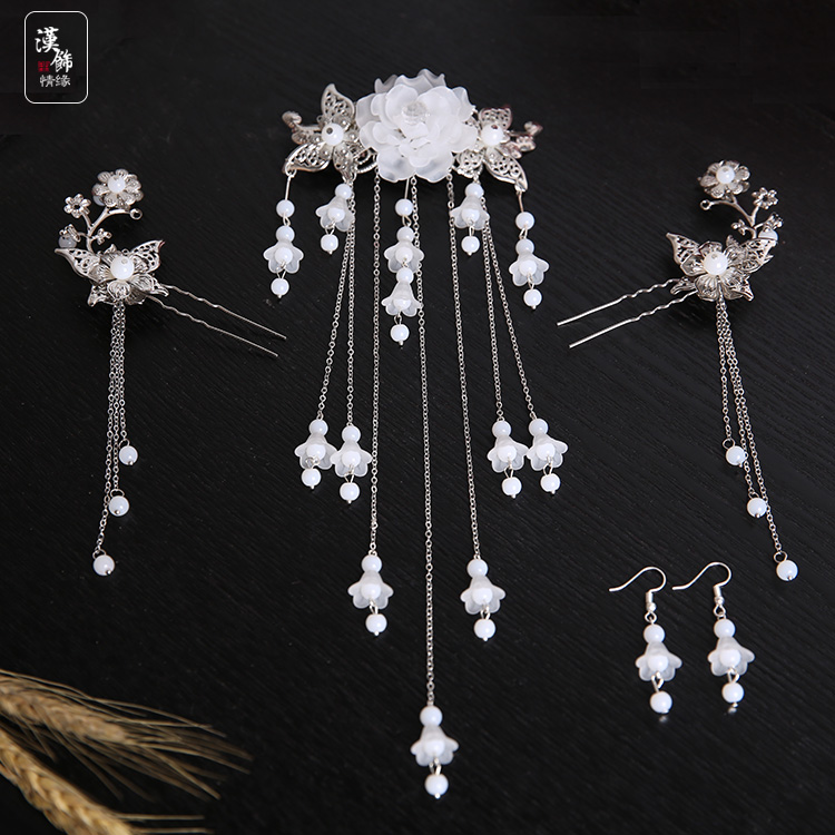 Ancient Costume Hanfu Headdress Hairpin Hair Restoring Ancient Ways