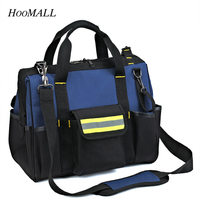 Hoomall Bottom Thicker Tool Package Electrical Package Telecommunications Maintenance Package Tool Bag
