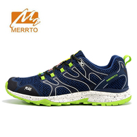 2018 MERRTO Mens Sports Spring And Summer Running Shoes Sneakers For Men Mesh Breathable Outdoor Running Trail Shoes Sneaker Man