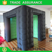 Led green/White photobooth backdrops photo booth inflatable