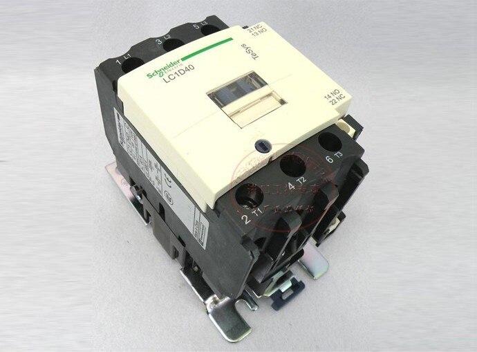 ФОТО TeSys D Contactor 3P 40A LC1D40 LC1D40LE7 LC1-D40LE7 208V AC 208VAC