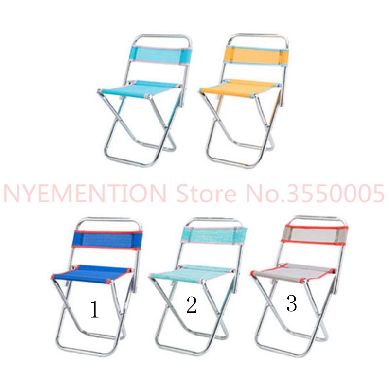 Chairs for kids Adults Party Camping Picnic Chairs Fishing Stool Protable Can Foldable Outdoor Furniture Ultralight Seat 20pcs