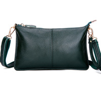 Hot Sale Fashion Shoulder Bags For Ladies Causal Clutch Bags Women Genuine Leather Messenger Bag Simple