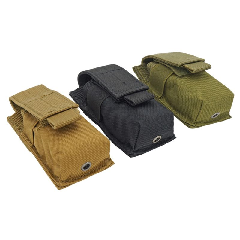 Military Molle Pouch Tactical Pouch Knife Pouch Flashlight Hunting Bags Fanny Pack 2018 Nylon Waist Bags For Men 5.8 X 3 X11.5cm