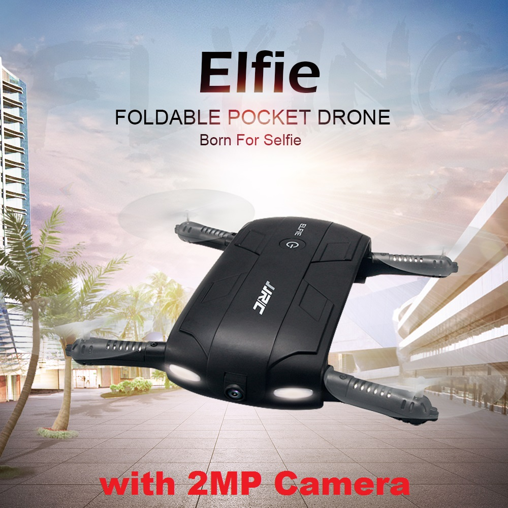 JJRC H37 EIfie ( With 2MP Camera ) 2.4G 6 Axis Self-timer WIFI real-time transmission Foldable FPV RC Quadcopter jjr c jjrc h43wh h43 selfie elfie wifi fpv with hd camera altitude hold headless mode foldable arm rc quadcopter drone h37 mini