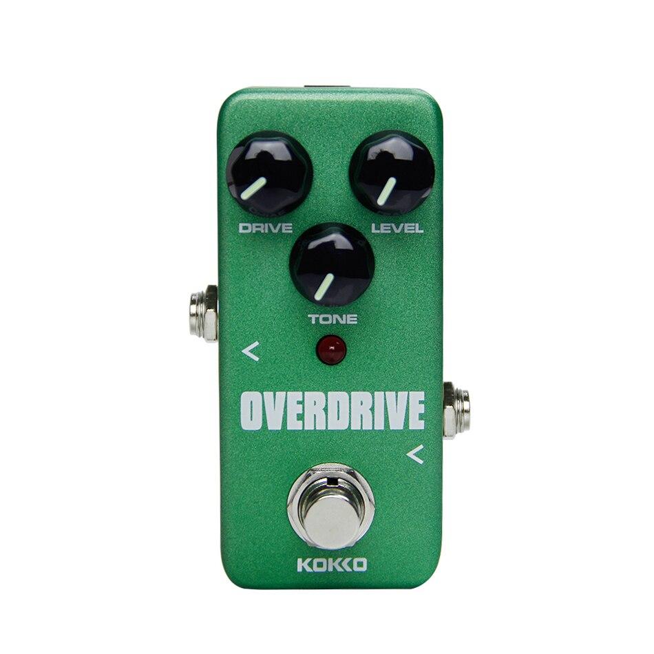 Kokko FOD3 Mini Overdrive Pedal Portable Guitar Effect Pedal True bypass Effect Pedal Guitar Accessories
