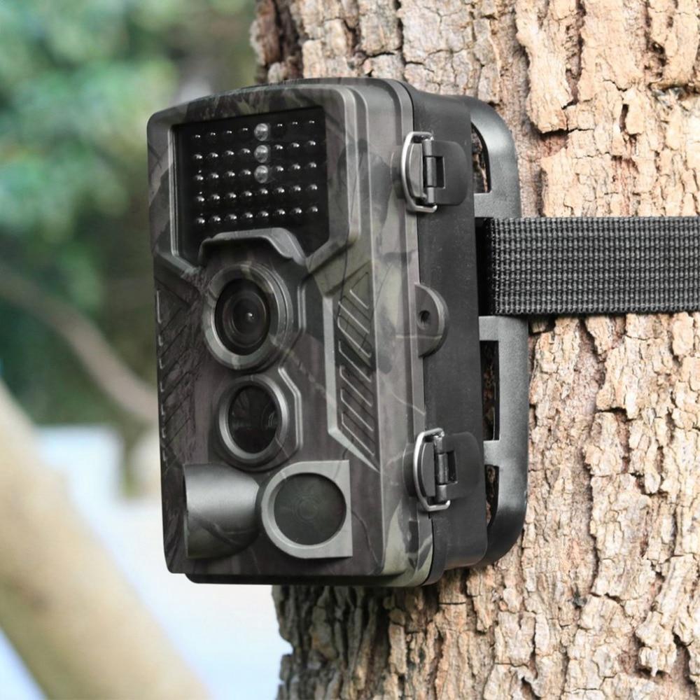 12MP 1080 P caméra de faune Photo pièges 120 grand Angle caméra de Surveillance de sentier chasse Vision nocturne caméra de jeu cachée chasse