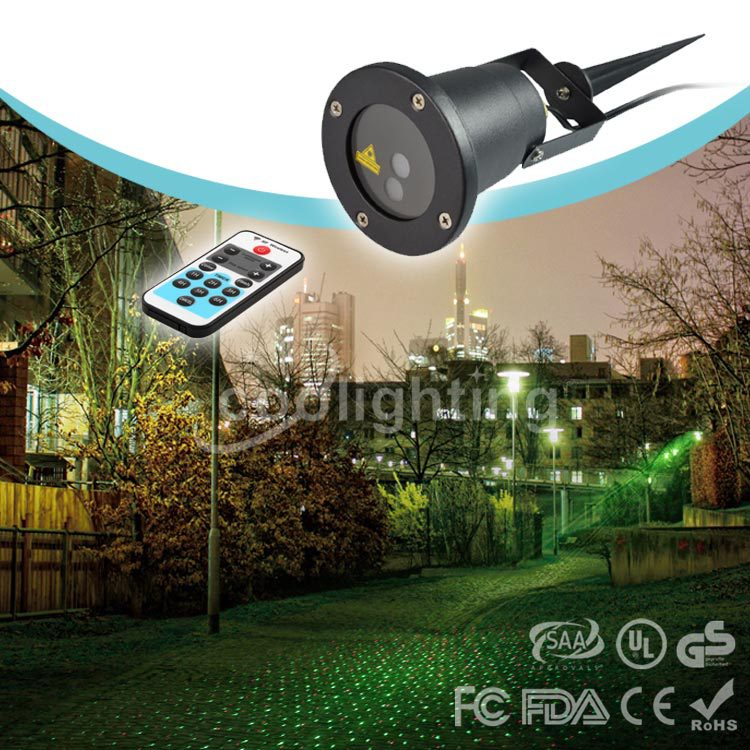 Remote red stars waterproof outdoor laser Christmas lights lawn lamp garden lamps. сосна новогодняя сказка 973313 пушистая зеленый 60 см