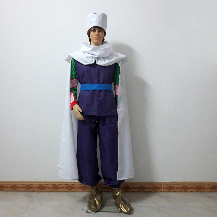 Japanese Anime Dragon Ball Piccolo Halloween Uniform Outfit Cosplay Costume Customize Any Size