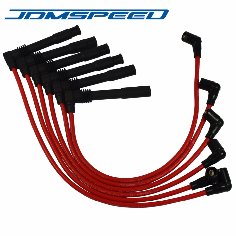 JDMSPEED Spark-Plug Audi Passat Volkswagen A4 A6 Wire-671-6165 Fits-For