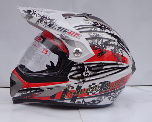 Free shipping LS2 MX433 road and off road font b helmet b font hard and wear