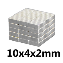 30pcs  Super Strong Small 10*4*2mm Neodymium Magnets Rare Earth Powerful Magnet 10 x 4 2 mm N35