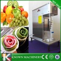 Высокая эффективность компрессора фруктовых и ореховых мягкого мороженого нержавеющей стали блендер миксер машина