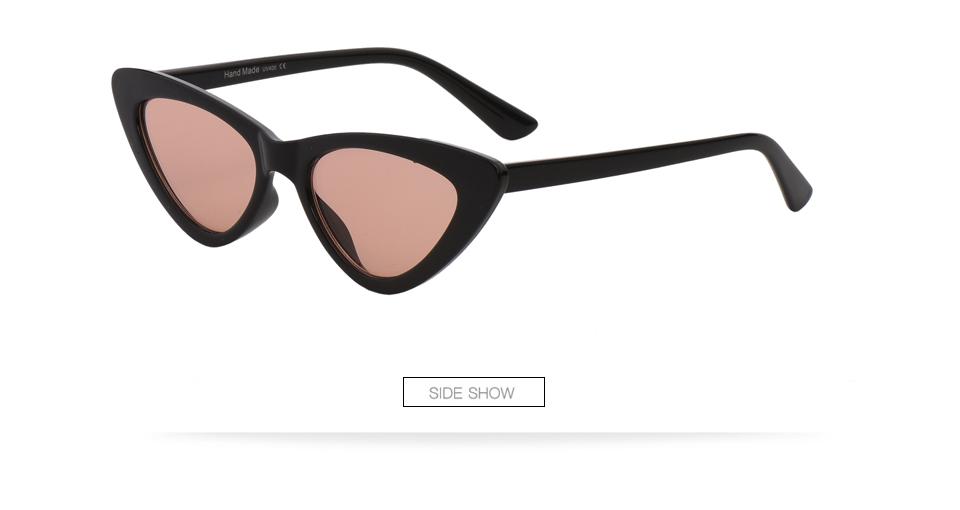 HTB1EkinaW 85uJjSZFlq6xemXXaC - Winla Fashion Design Cat Eye Sunglasses Women Sun Glasses Mirror Gradient Lens Retro Gafas Eyewear Oculos de sol UV400 WL1127