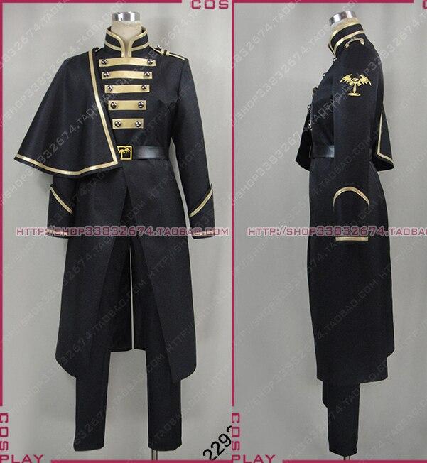 Masked Rider Kamen Rider Ghost Necrom Syrians Black Halloween Uniform Set Cosplay Costume