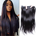 6A Clip In Human Hair Extensions For Black Women Brazilian Straight Clip In Hair Extensions Human Hair Clip Ins 7pcs/lot 120g