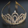 Rainha Princesa Cristal E Coroas de Strass Jóia Do Cabelo de Noiva Acessórios Do Cabelo Do Casamento Pageant THSC0161
