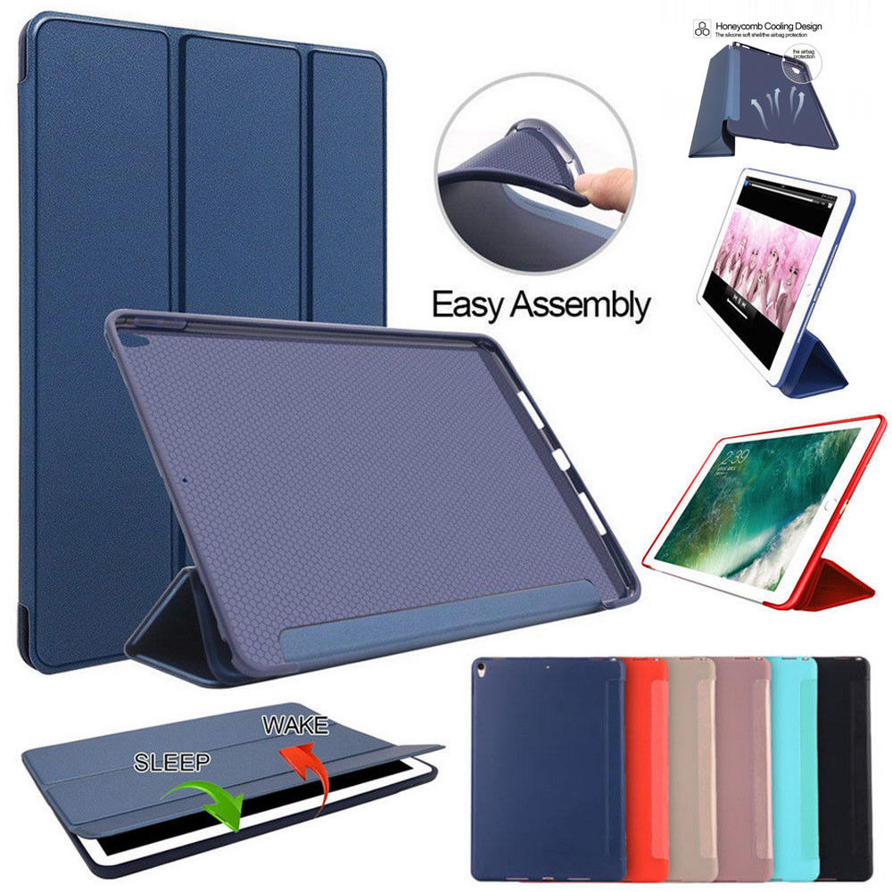 For New iPad 9.7 2017 2018 Case Ultra Thin Soft Silicon TPU Cover Tablet Case For iPad 9.7 A1893 A1954 A1822 A1823 baseus guards case tpu tpe cover for iphone 7 red