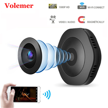 Volemer H6 Wifi мини камера Домашняя безопасность ИК ночного видения беспроводная ip-камера HD Обнаружение движения портативная Магнитная портативная камера