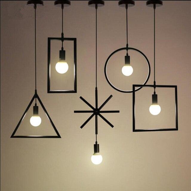 Vintage lampade a sospensione lampada E26/E27 5 tipi di struttura ...