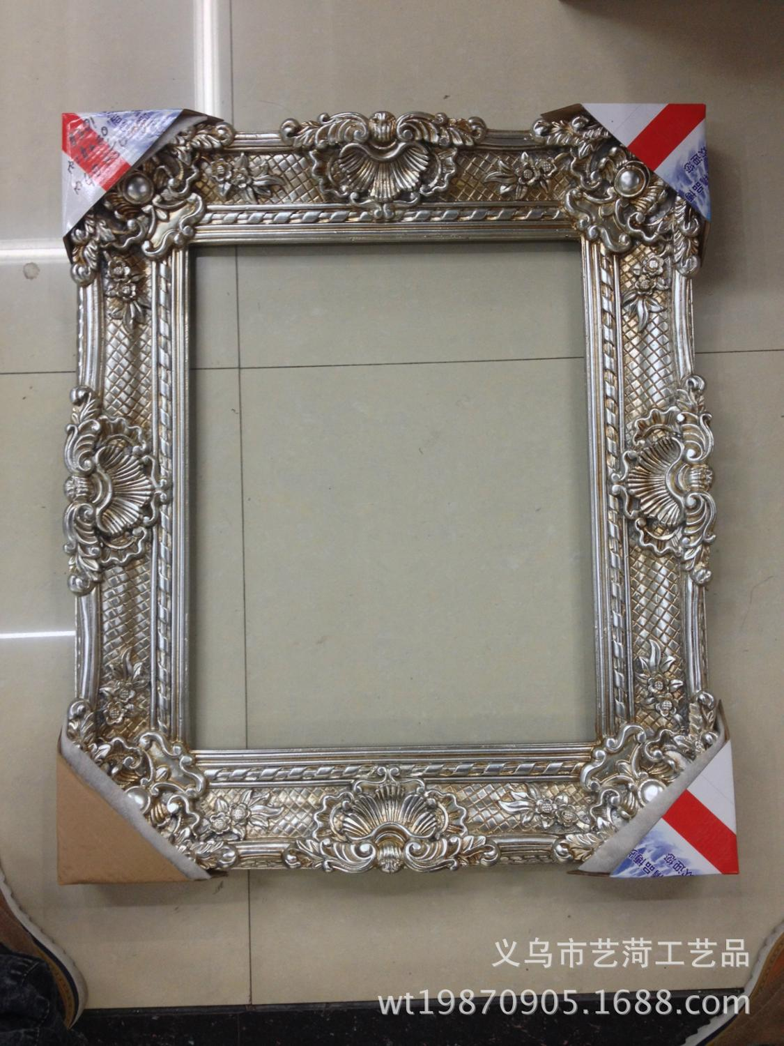 european air box 12x16 inch frame wholesale european embossing frame of small size oil painting