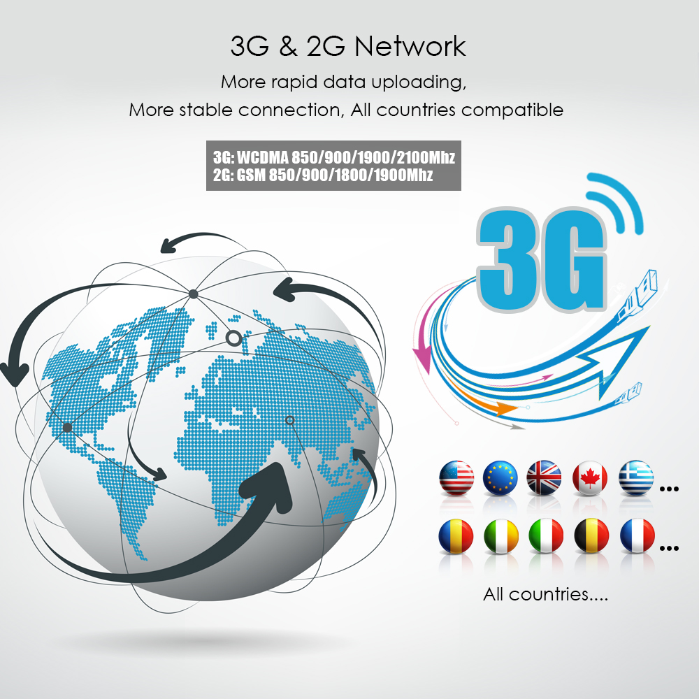 3G GPS Per Auto Tracker TKSTAR TK915 3G 80 giorni In Standby Magnete Impermeabile In Tempo Reale di GPS Per Auto Tracker Allarme di Scossa TRASPORTO APP PK TK905 TK915 - 2