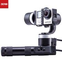 ZHIYUN Z1 Rider2 обновления версии 3 оси устойчивый обрабатывались Gimbal провода стабилизатор для Gopro Hero 3 4 XiaoYi SJ4000 спортивные Камера