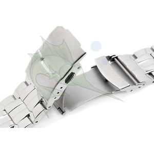 Image 5 - Cao Qualith Thép Không Gỉ Ban Nhạc Đồng Hồ Vòng Đeo Tay, 22mm Cong Mảnh Màu Đen Dây Đeo Đồng Hồ cho Casio EF 550 Watchband dây đeo