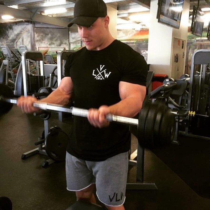 VIKING Gyms T shirt Crossfit Brand Clothing Fitness T-shirt compression Short Sleeve Tshirt Bodybuilding Workout Tee-shirt Plus 4