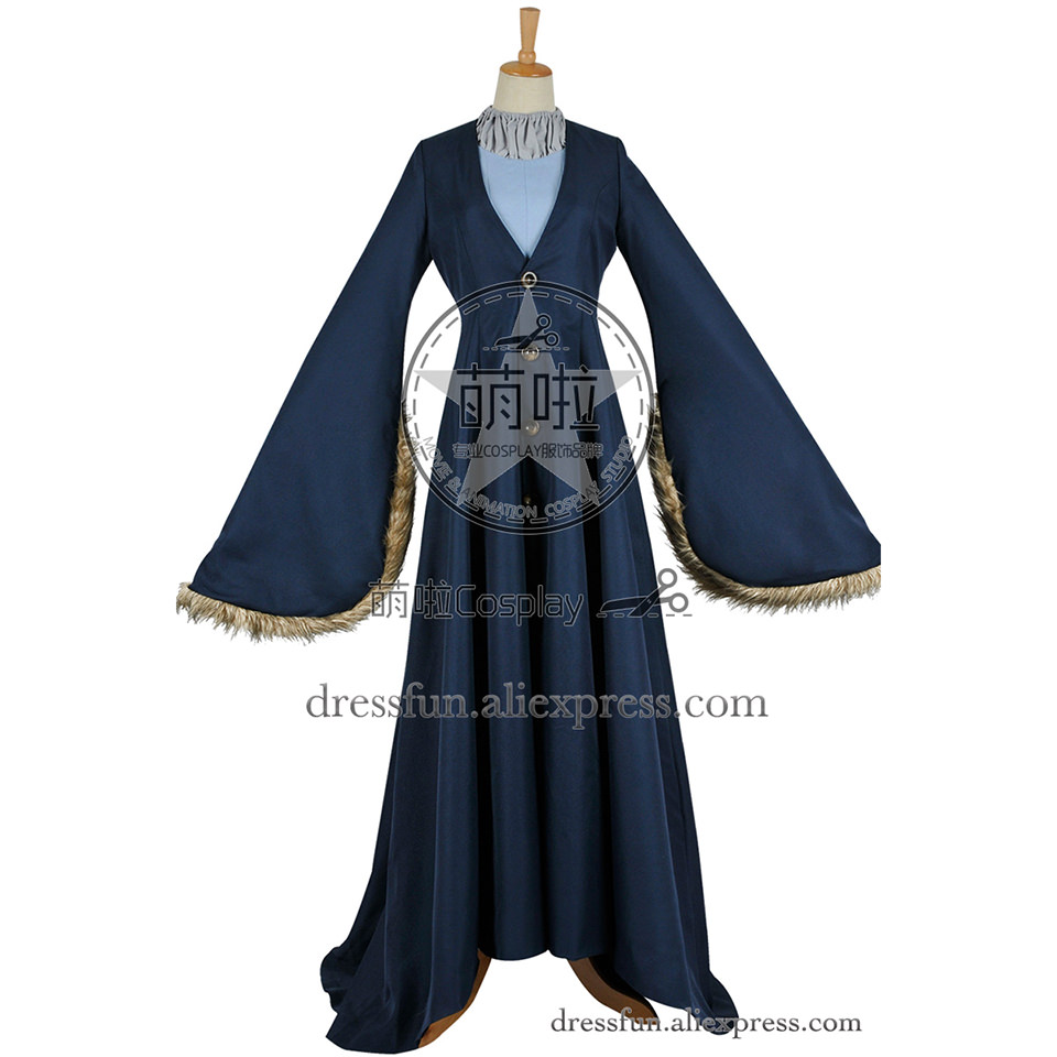 Game of Thrones Cosplay Cats Aunt Catelyn Tully Stark Costume Dress Trench Coat Uniform Suit Halloween Party Fast Shipping
