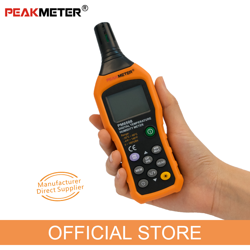 Hivatalos PEAKMETER PM6508 digitális - Mérőműszerek - Fénykép 3