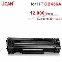 for Hp laserJet M1120 1505 P1505 M1522n M1522nf MFP Printer 36a CB436a UCAN 12 000 pages
