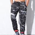 Moda Cordón De Algodón de Invierno de Los Hombres Pantalones Casuales Pantalones de Camuflaje Táctico Para Los Hombres Mediados de Cintura Los Hombres de Larga Duración pantalones