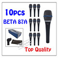 10pcs wholesale Top Quality Beta 87A Clear Sound Handheld Wired Karaoke Microphone