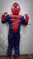 New Carnaval Costumes Amazing Spider Man Spiderman Costume Kids Muscle Boy Halloween Costume For Kids Girls