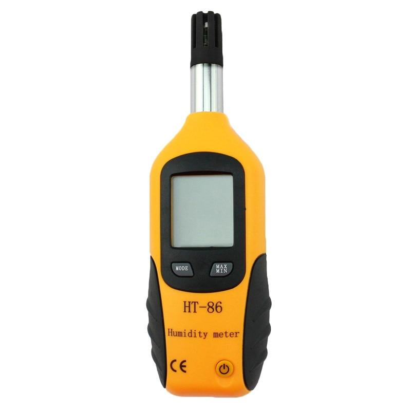 -20~+80 Digital Hygrometer Thermometer LCD Display Backlight Professional Temperature Humidity Meter Gauge Portable Psychrometer