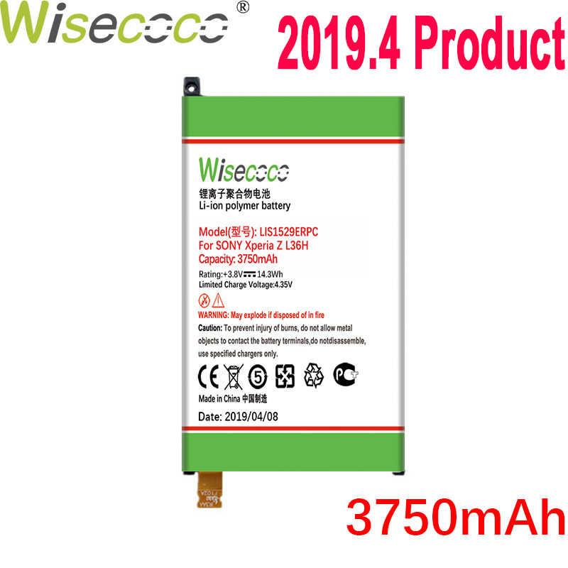 WISECOCO 3750mAh LIS1529ERPC Pin Cho SONY Xperia Z1 Mini Xperia Z1 Nhỏ Gọn D5503 M51w Điện Thoại Di Động + Số Theo Dõi
