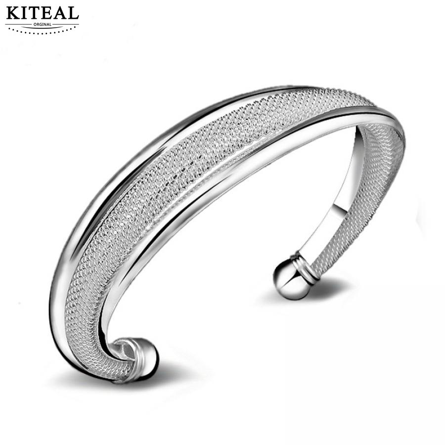 KITEAL Mode schmuck charms Maiden armband Mesh armband net pulseras hombre schmuck zubehör