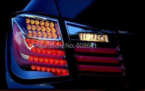 Super Lüks 09-12 Cruze LED arxa işıq, BMW stil üçün açıq - Avtomobil işıqları - Fotoqrafiya 3
