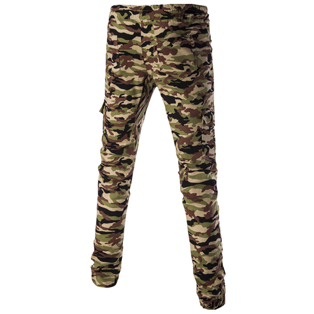 2016 New Camouflage Mens Joggers Military Slim Pants Men Outer Wear Army Sweatpants For Mens Jogger Pants Pantalones Hombre