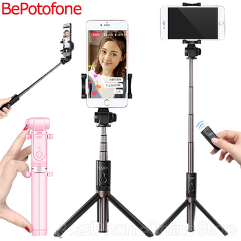 NEW Selfie Stick Tripod Stand 3 in 1 Extendable Monopod Bluetooth  3.0 Remote Phone Mount for iPhone X 8 Android SmartPhone