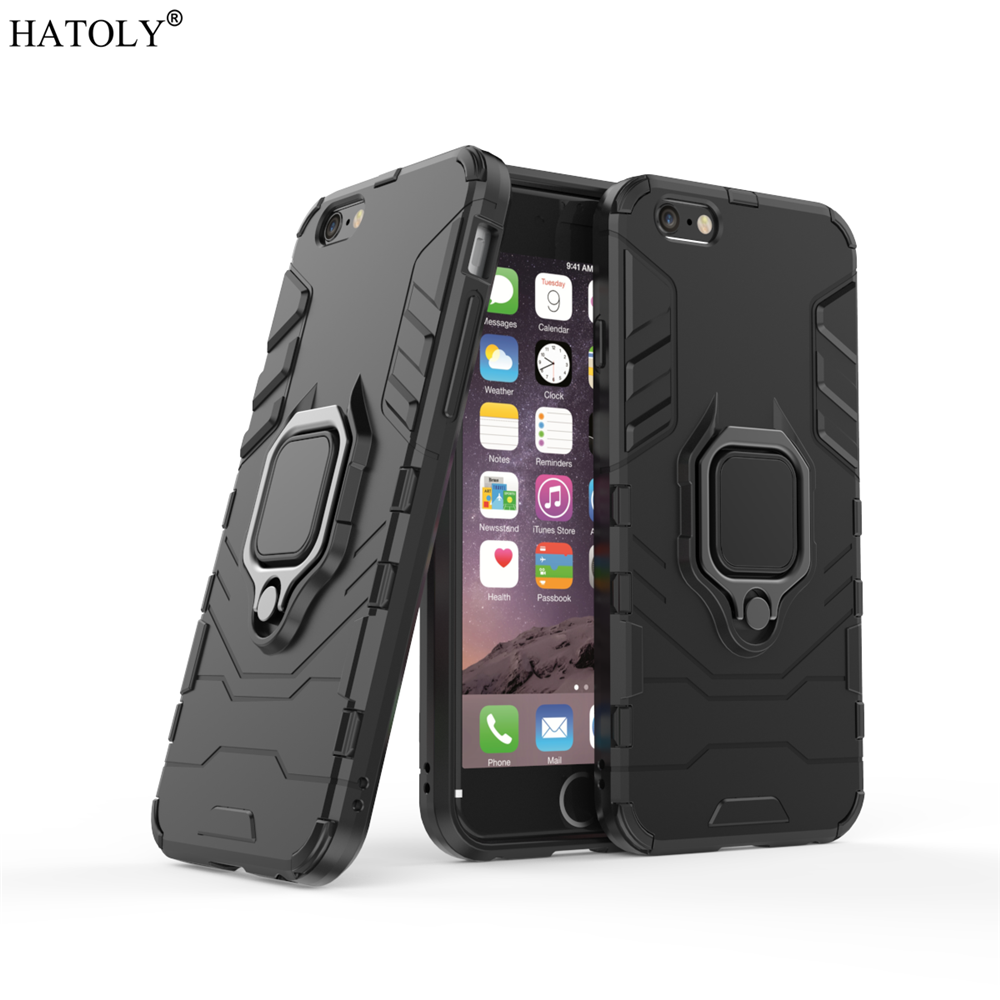sFor Apple iPhone 6s Case Cover for iPhone 6s Finger Ring Phone Case Shell Bumper Protector Hard