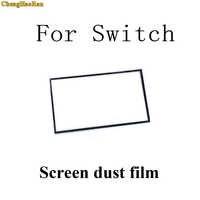 Marco de goma para pantalla táctil LCD, esponja a prueba de polvo, película para consola Nintendo NS Switch, 1 Uds.