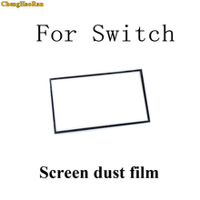 1pcs Replacement Part LCD Screen Touch Screen Dust Proof Sponge Rubber Mat Frame film For Nintendo NS Switch Handheld Console
